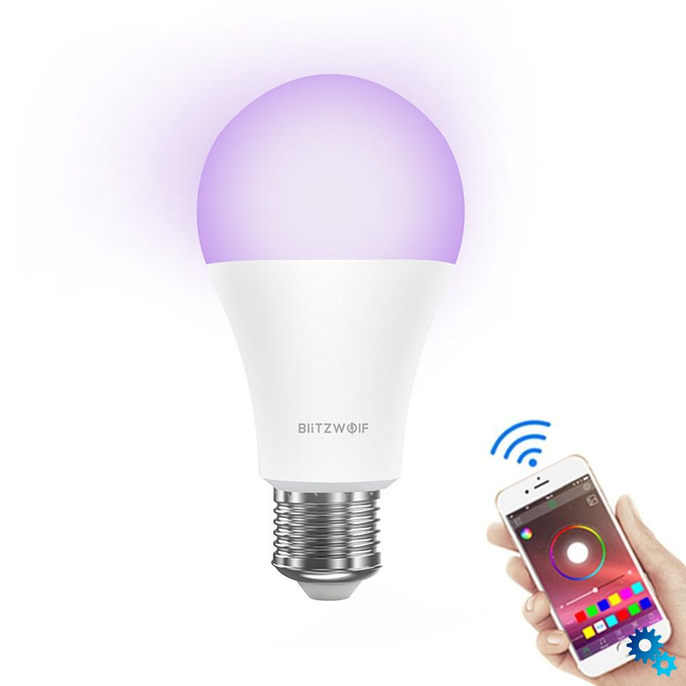 $10.89 BlitzWolf? BW-LT21 RGBWW 10W E27 APP Smart LED Light Bulb Work With Amazon Alexa Google Assistant AC100-240V