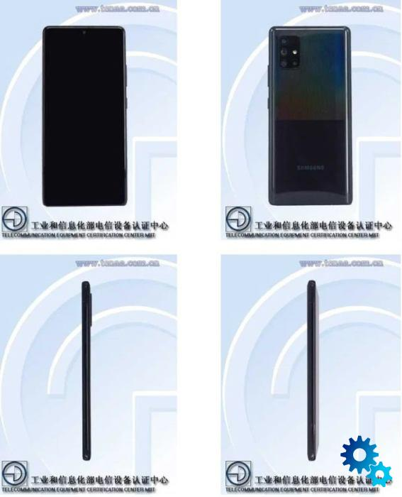 Samsung Galaxy A71 5G Early images from TENAA leaked - Samsung Galaxy A71 5G: Early images from TENAA leaked