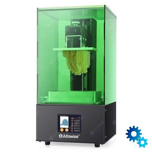 The Alfawise W10 3D printer is in discount with Coupon and …