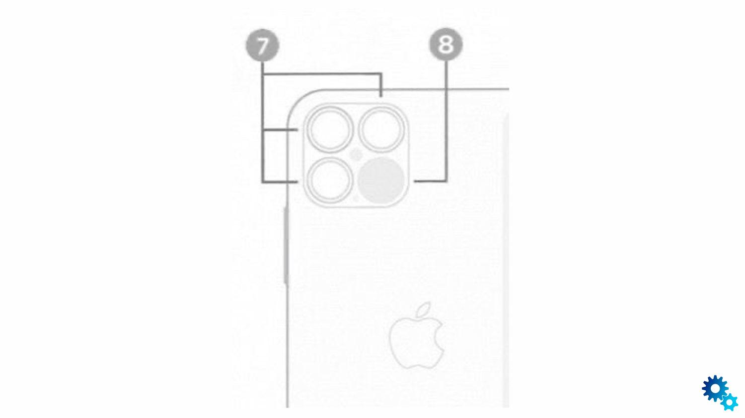 The leaked drawing of the iPhone 12 Pro revealed what its camera would look like