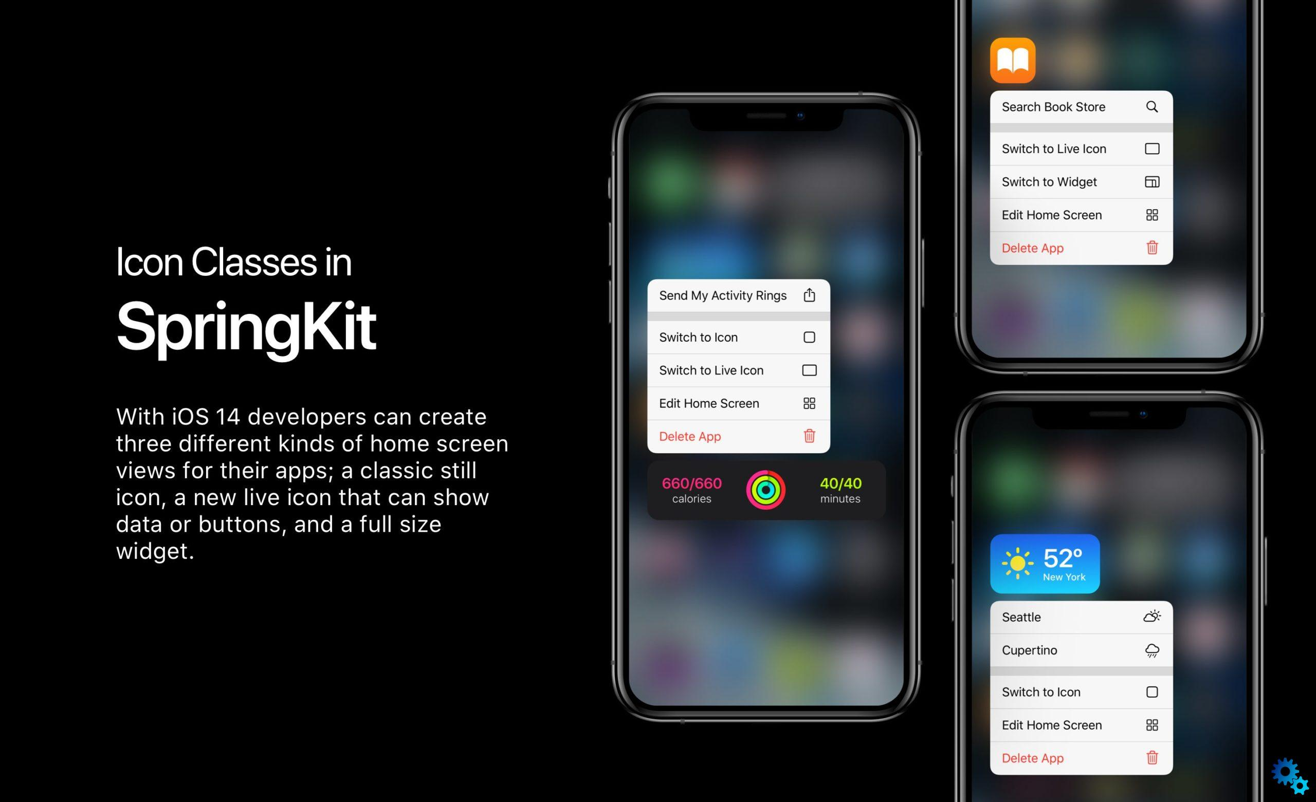 This is likely to be the home screen of your iPhone in iOS 14