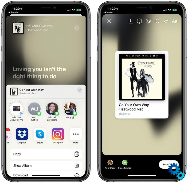 iOS 13.4.5 brings a novelty that will especially please lovers of Instagram and Facebook