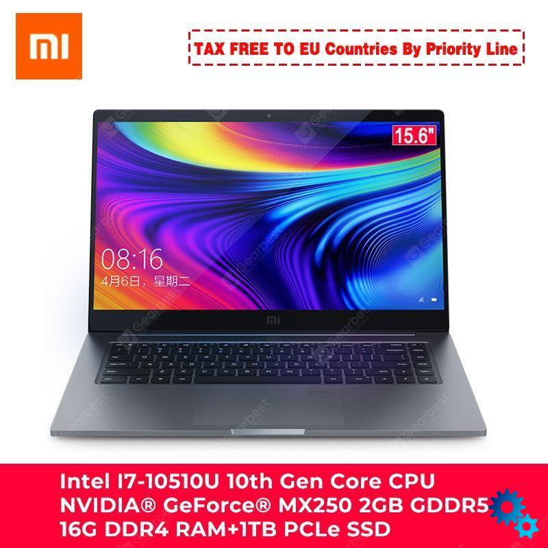 $1,169.00 Xiaomi Laptop Notebook 15.6 Pro Enhanced i7-10510U MX250 – Dark Gray Intel I7 China coupon code