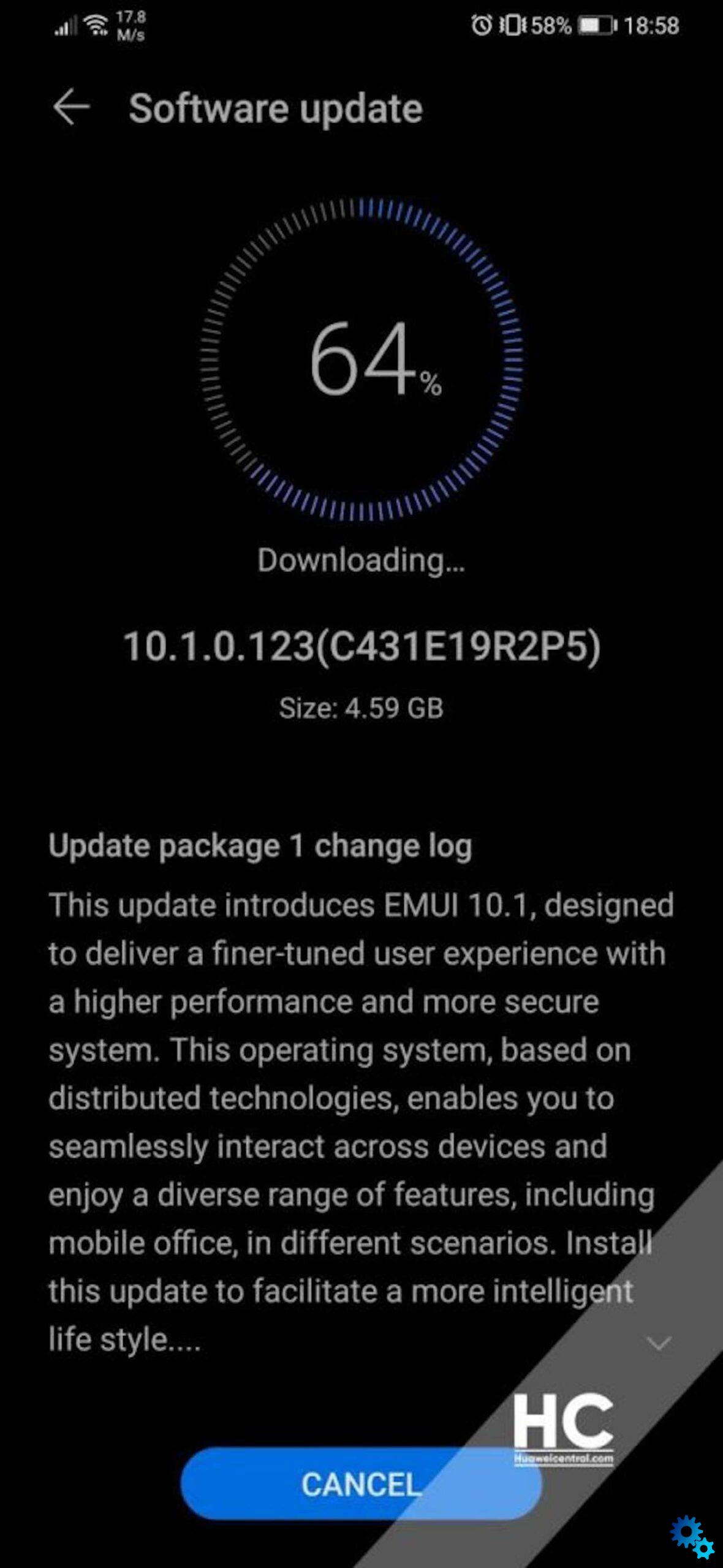 Huawei P30 and P30 Pro the stable EMUI 10.1 arrives - Huawei P30 and P30 Pro: the stable EMUI 10.1 arrives in ...