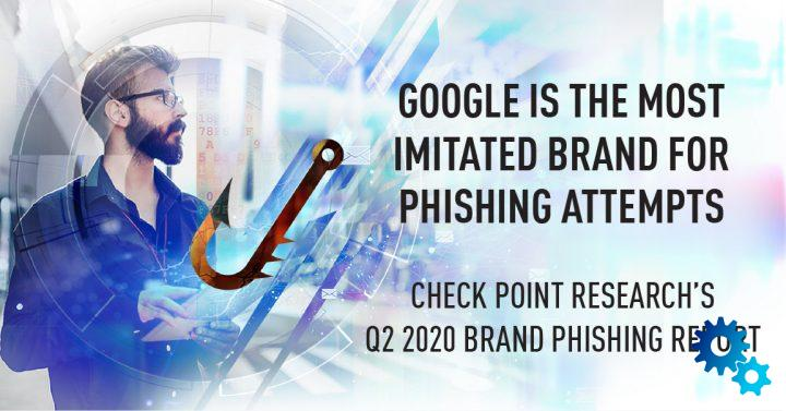 Phishing at its best: Fraudsters prefer to use Google as a brand name