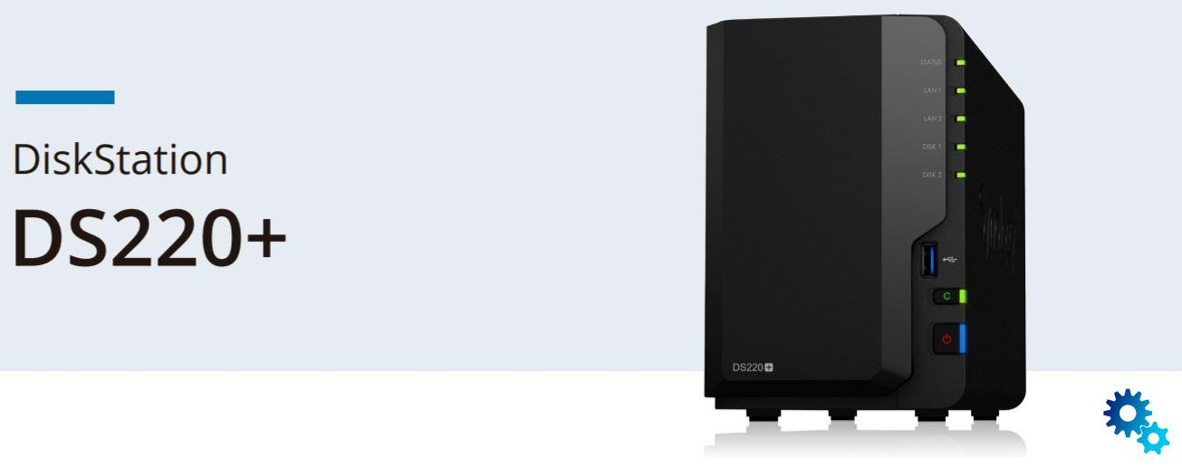 Synology: The DS220 + is now available