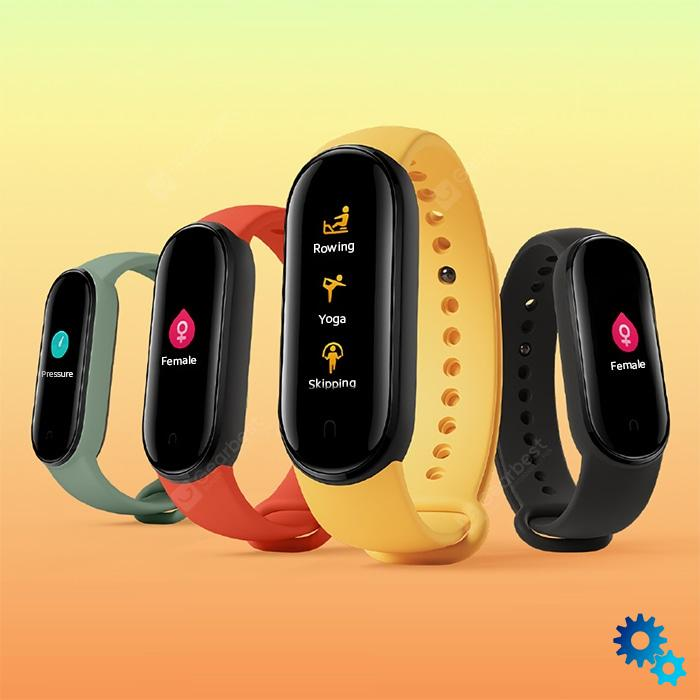 $36.99 Xiaomi Mi Band 5 Smart Wristband 1.1 inch Color Screen Wristband with Magnetic Charging 11 Sports Modes Remote Camera Bluetooth 5.0 Global Version – Black Global Version coupon code