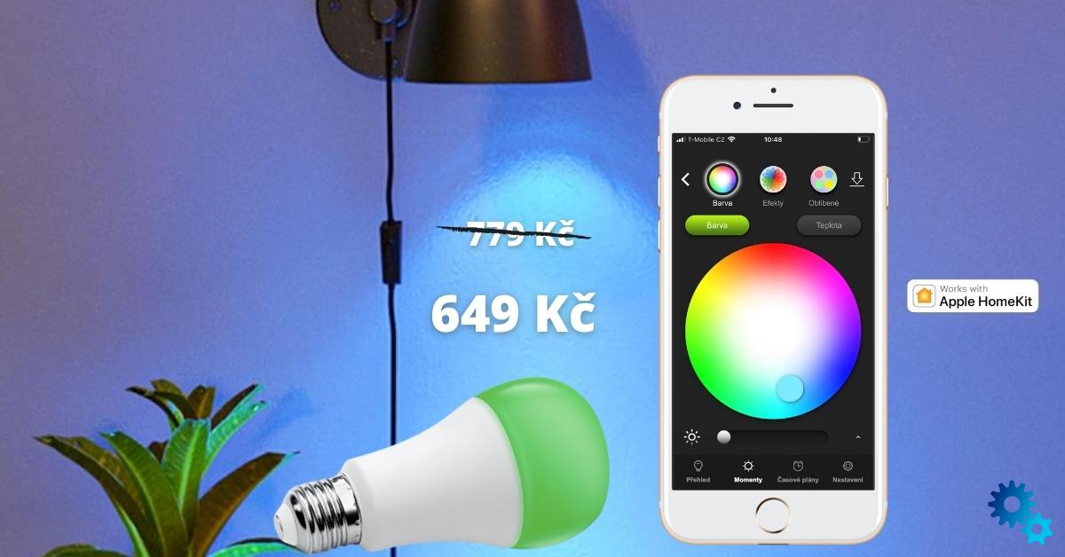 HomeKit colored light bulbs and powerstrip at a good price. Now!