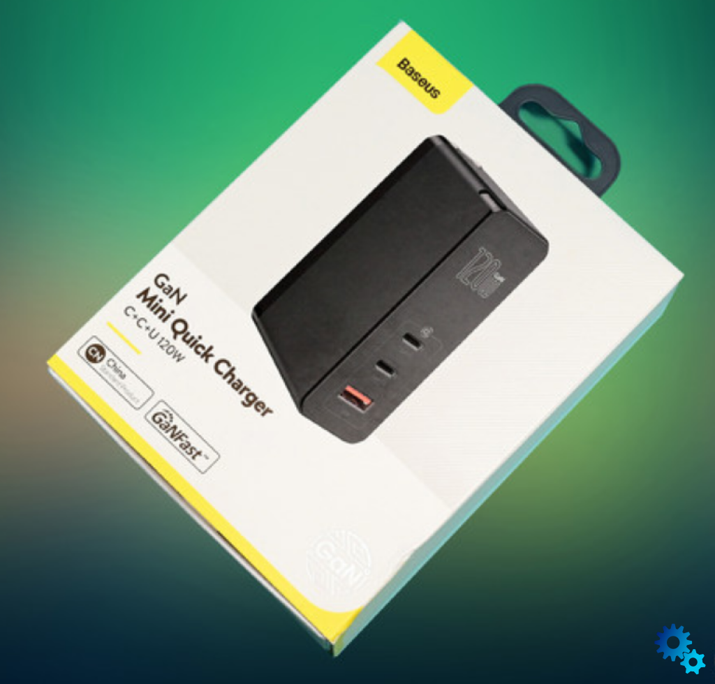 Baseus 120W GaN charger review-fast charging without overheat