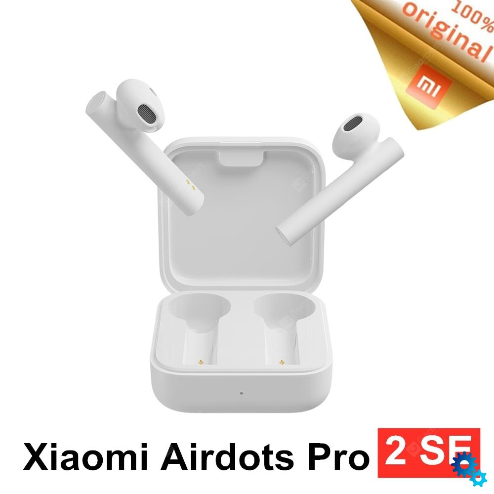 $25.99 NEW Xiaomi Air2 SE Wireless Bluetooth Earphone True Wireless Stereo Headset Synchronous Link 20h Long Standby Dual microphone – White China coupon code