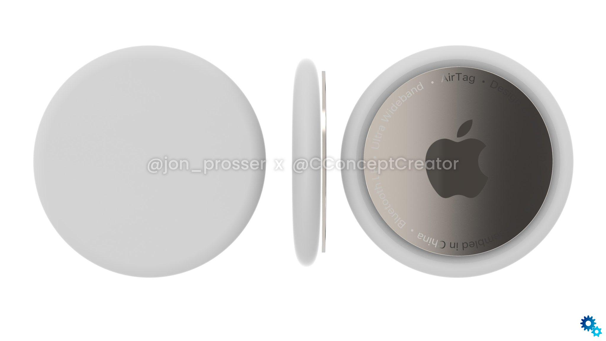 AirTags locators are available in two sizes