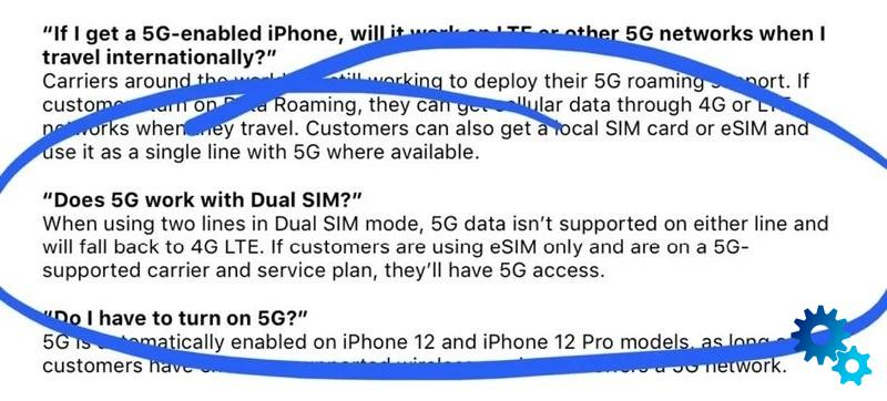 iPhones 12 may not support 5G in Dual SIM mode
