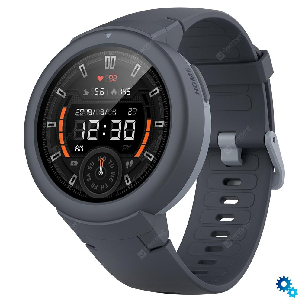 $75.99 AMAZFIT Verge Lite Bluetooth Sports Smartwatch Global Version( Xiaomi Ecosystem Product ) – Light Slate Gray coupon code