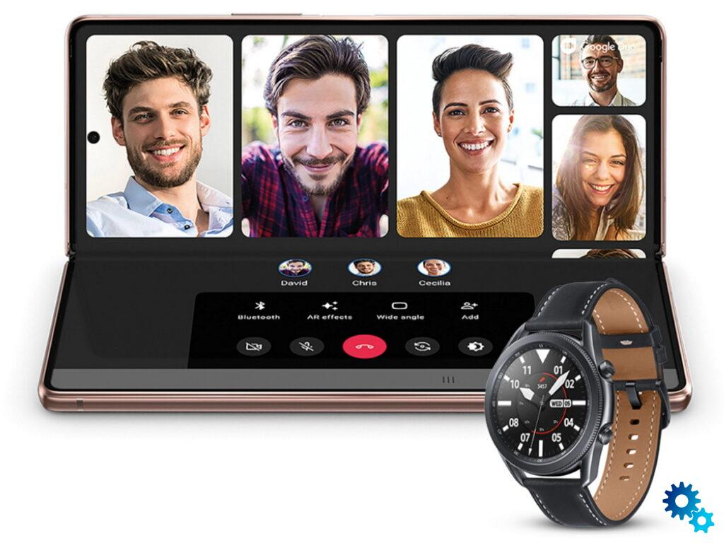 Samsung Galaxy Z Fold 2 promotion: now with a free Galaxy Watch 3 worth € 459