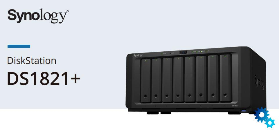 Synology DS1821 +: NAS with Ryzen processor official