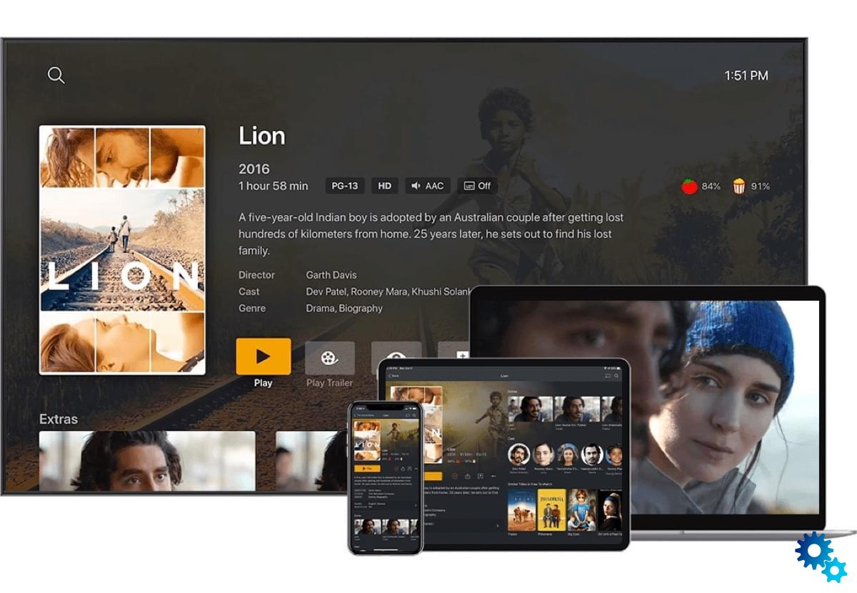 Plex account: Mediaserver supports two-factor authentication