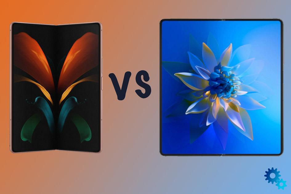 Huawei Mate X2 vs Samsung Galaxy Z Fold 2 differences