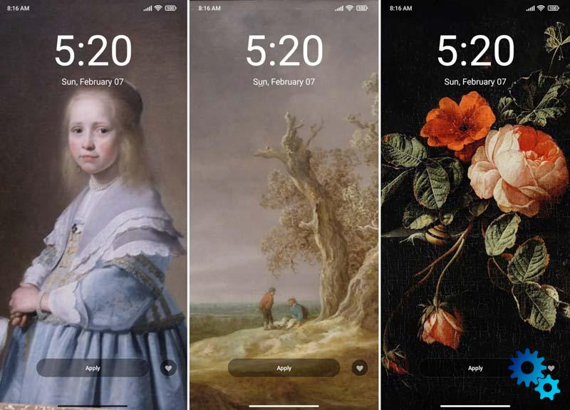 Dutch art lands on the new MIUI themes