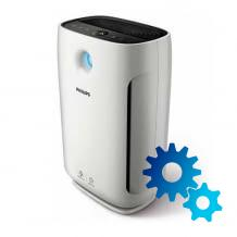 Smart ALDI air purifier with HEPA-13 filter and app