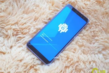 There is finally the March update for the Samsung Galaxy A8
