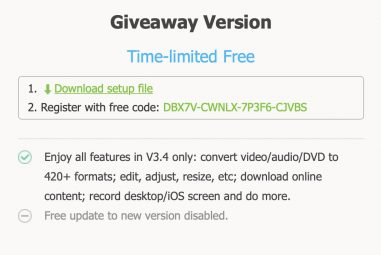 Review of VideoProc: easy conversion of not only MKV to MP4 format [+licence zdarma]