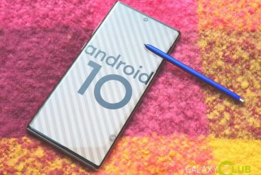 Samsung now also launches Android 10 beta for the Galaxy Note 10: preview