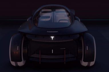 Take a look at the Tesla electric car concept for 2050