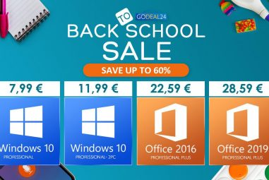 The best software to go back to school: you can buy Windows 10 Pro for only € 7.99
