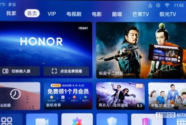 Huawei Smart Screen certified … with Android TV?