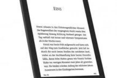 All Amazon Kindle eBook readers in the test, check and comparison