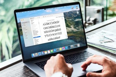 How to install fonts in macOS