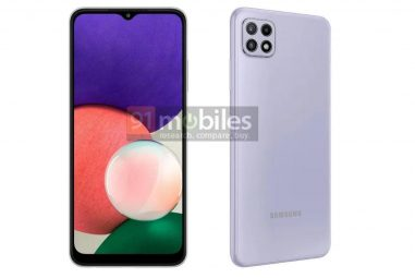 Official images: this is Samsung Galaxy A22 (5G)