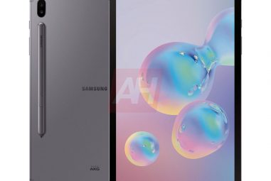 Samsung Galaxy Tab S6: New Look of Official Renders!
