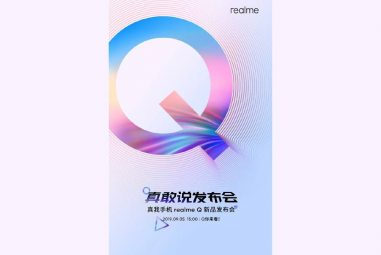 The new Realme Q series debuting on September 5th