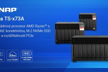 QNAP Introduces TS-x73A Series NAS with 4-Core AMD Ryzen and Two 2.5GbE Ports