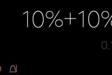 What is 10% + 10%? Watch out for the fake result, on many smartphones